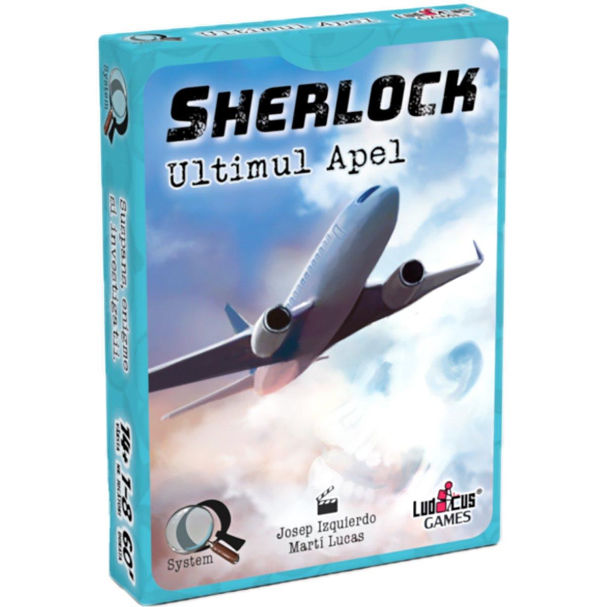 Joc de societate Enigma Studio, Sherlock, Q1 Ultimul apel imagine