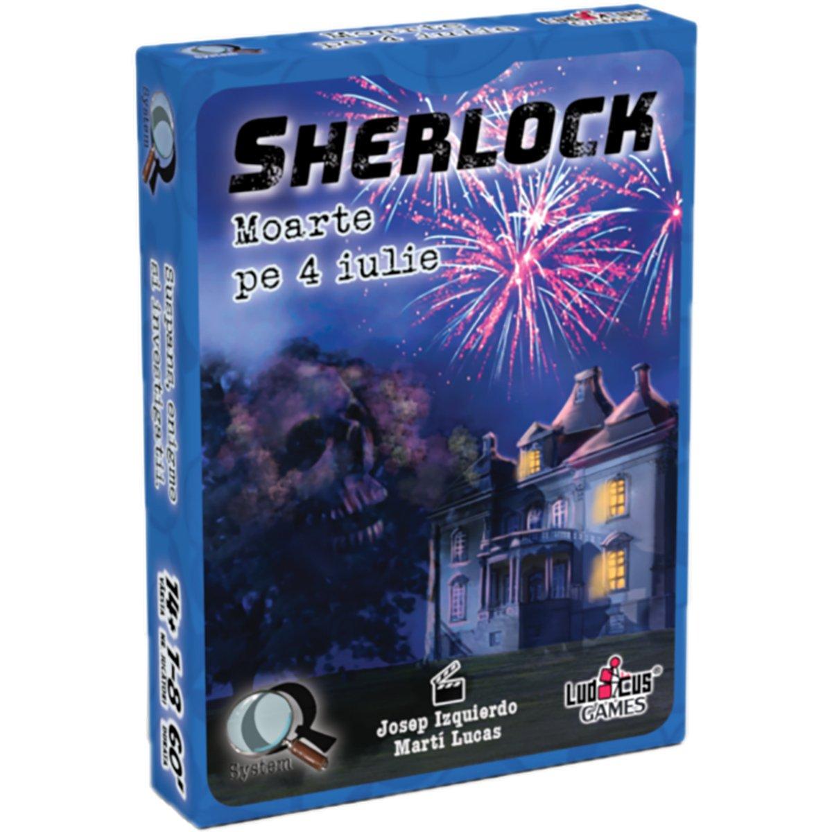 Joc de societate Enigma Studio, Sherlock, Q2 Moarte pe 4 iulie