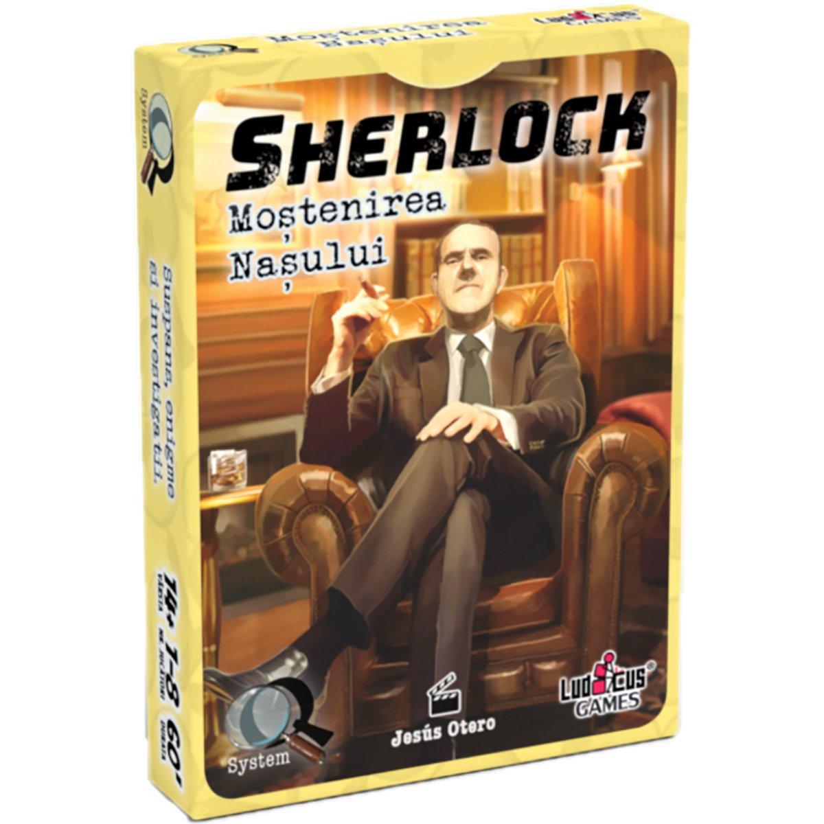 Joc de societate Enigma Studio, Sherlock, Q4 Monstenirea Nasului