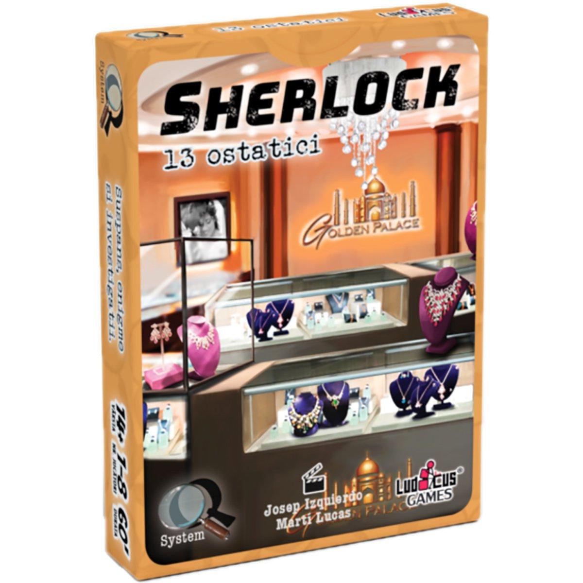 Joc de societate Enigma Studio, Sherlock, Q5 13 ostatici