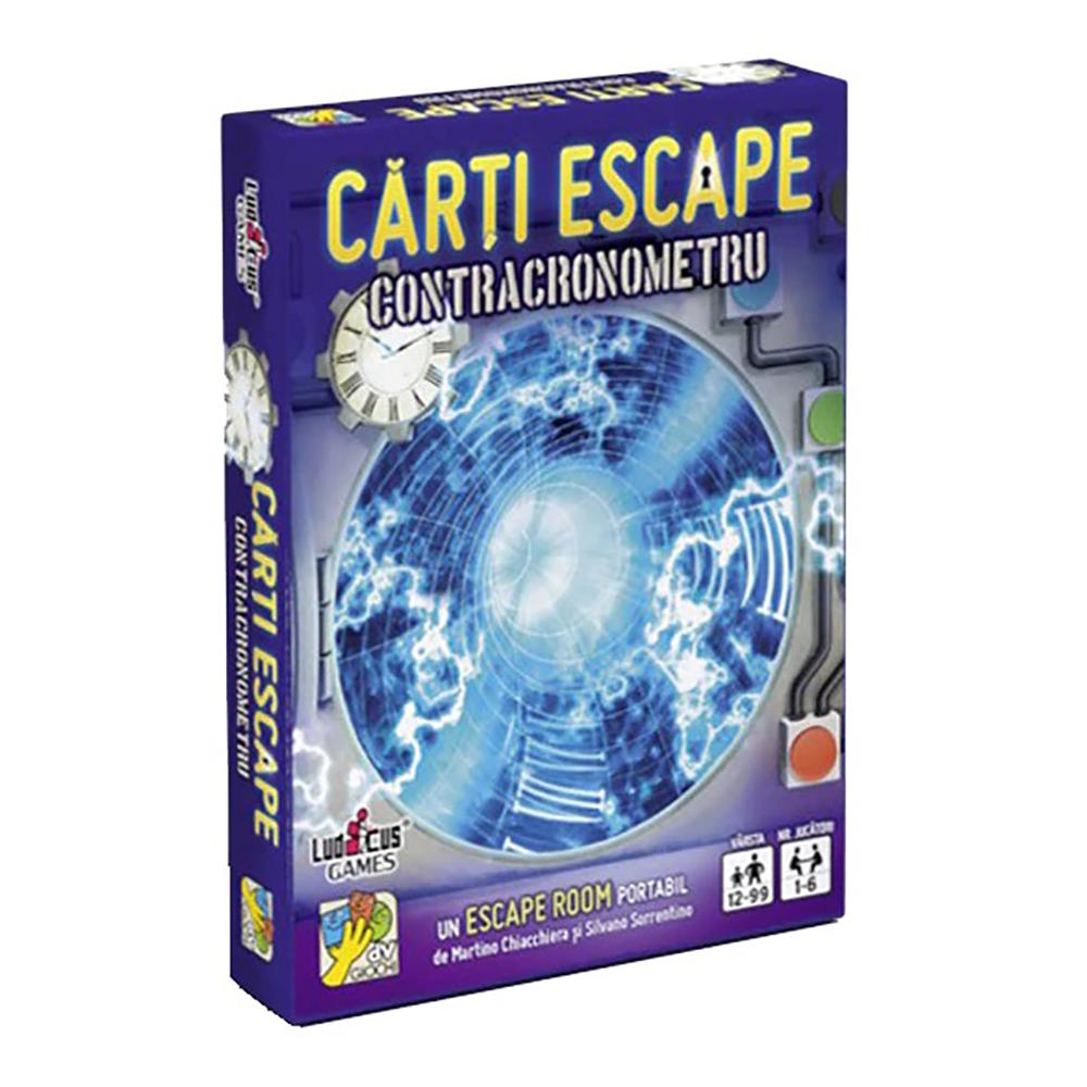Joc de societate dv Giochi, Carti Escape Ed. II, Contracronometru