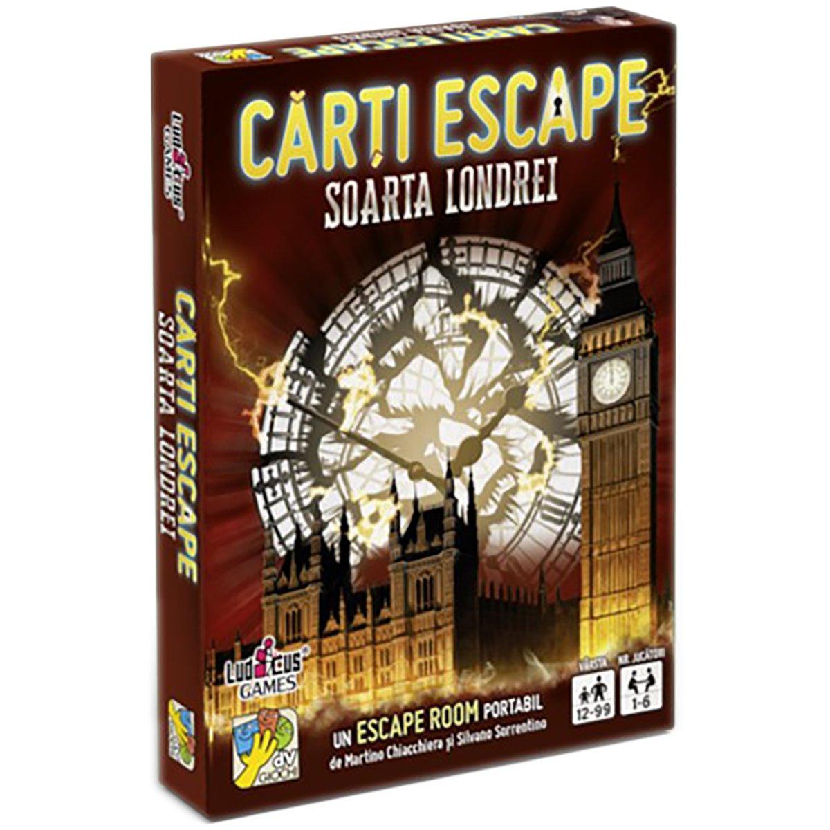 Joc de societate dv Giochi, Carti Escape Ed. II, Soarta Londrei