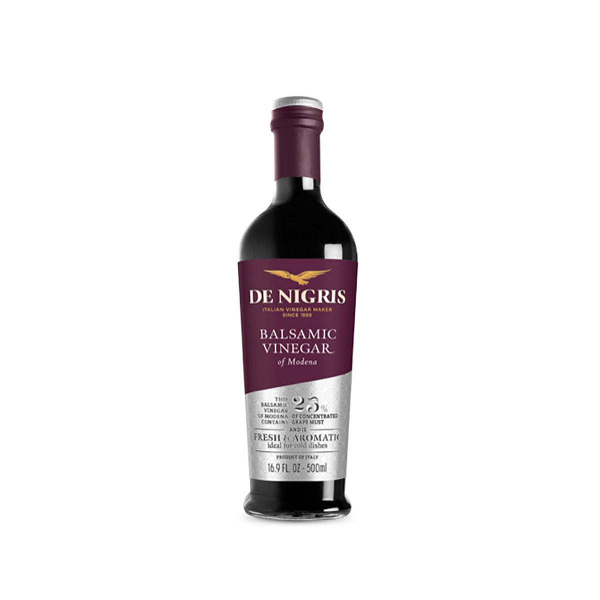 Otet balsamic De Nigris de Modena, 25% must, 500 ml