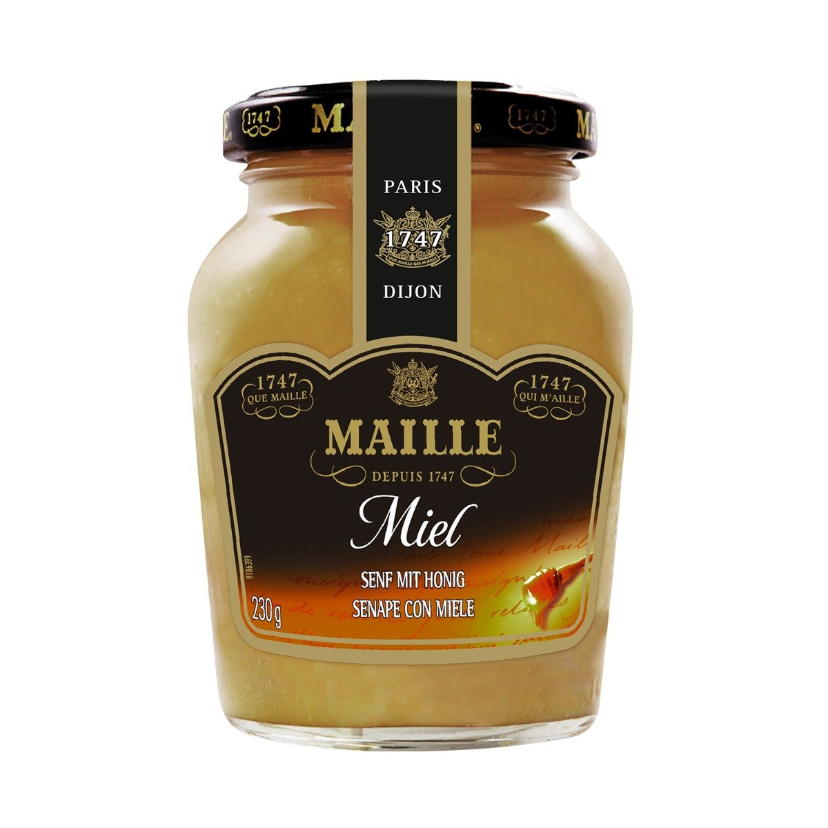 Mustar cu miere Dijon Maille, 230 g imagine 2021