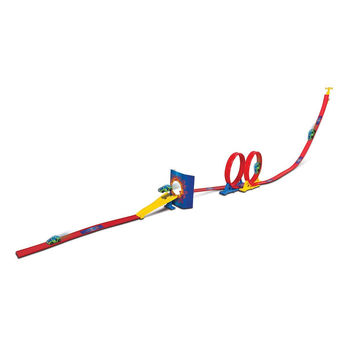 Set de joaca cu masinuta Maisto Fresh Metal, Double Loop imagine