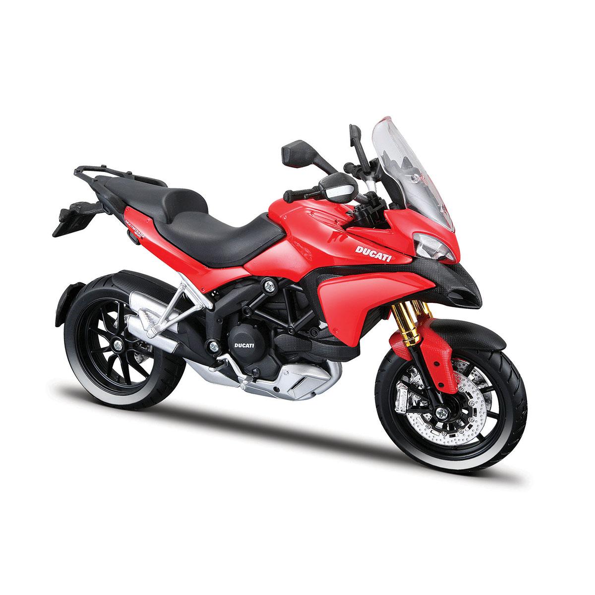 Motocicleta Maisto Ducati Multistrada, Rosu, 1:12