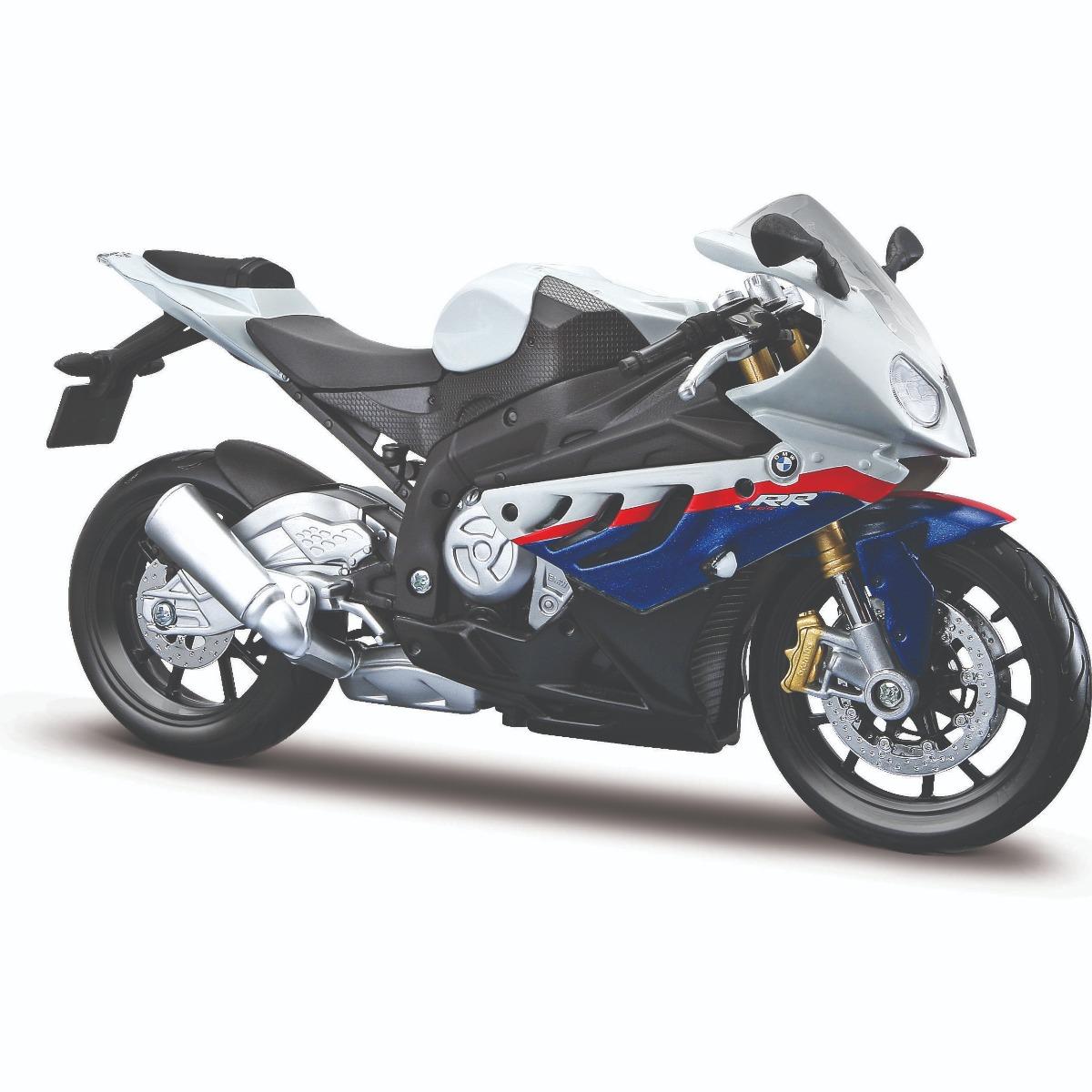 Motocicleta Maisto BMW 1000 RR, 1:12