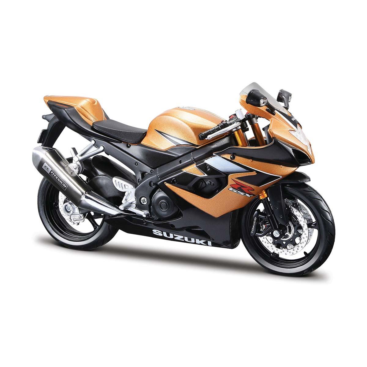 Motocicleta Maisto Suzuki GSX R1000, 1:12