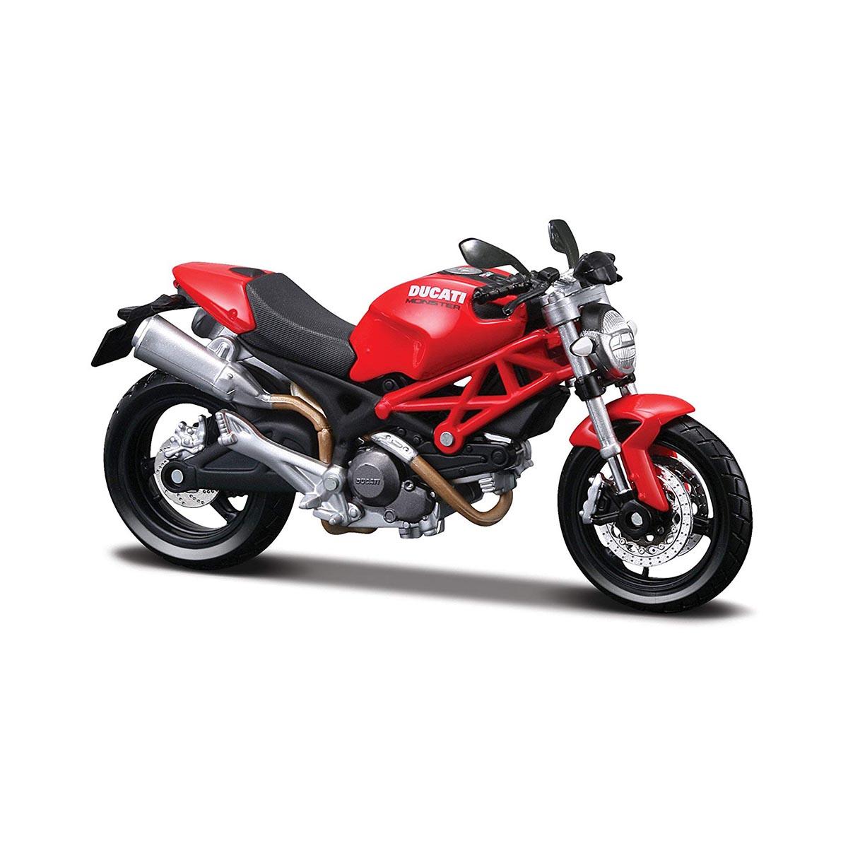 Motocicleta Maisto Ducati Monster 696, 1:12
