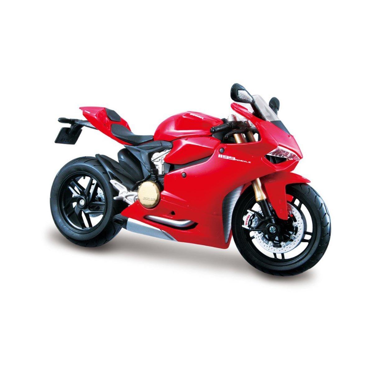 Motocicleta Maisto Ducati 1199, 1:12