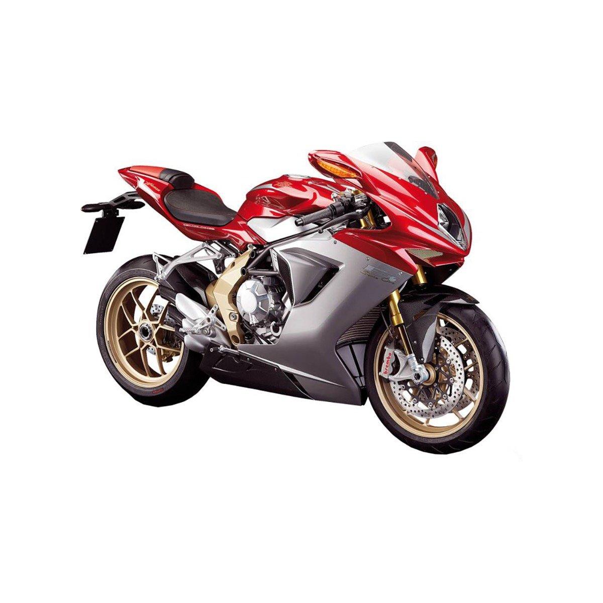 Motocicleta Maisto MV Agusta F3 Serie Oro 2012, 1:12