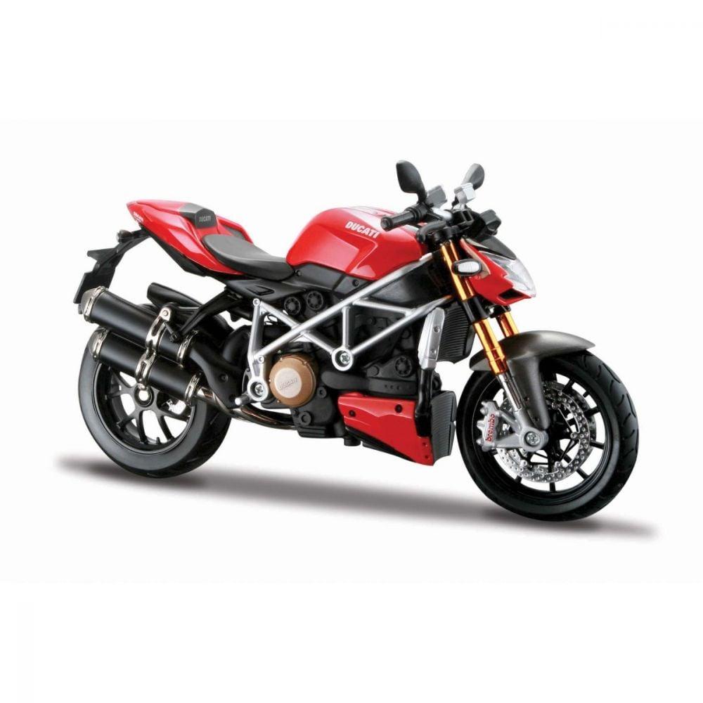 Motocicleta Maisto Ducati Streetfighter S, 1:12
