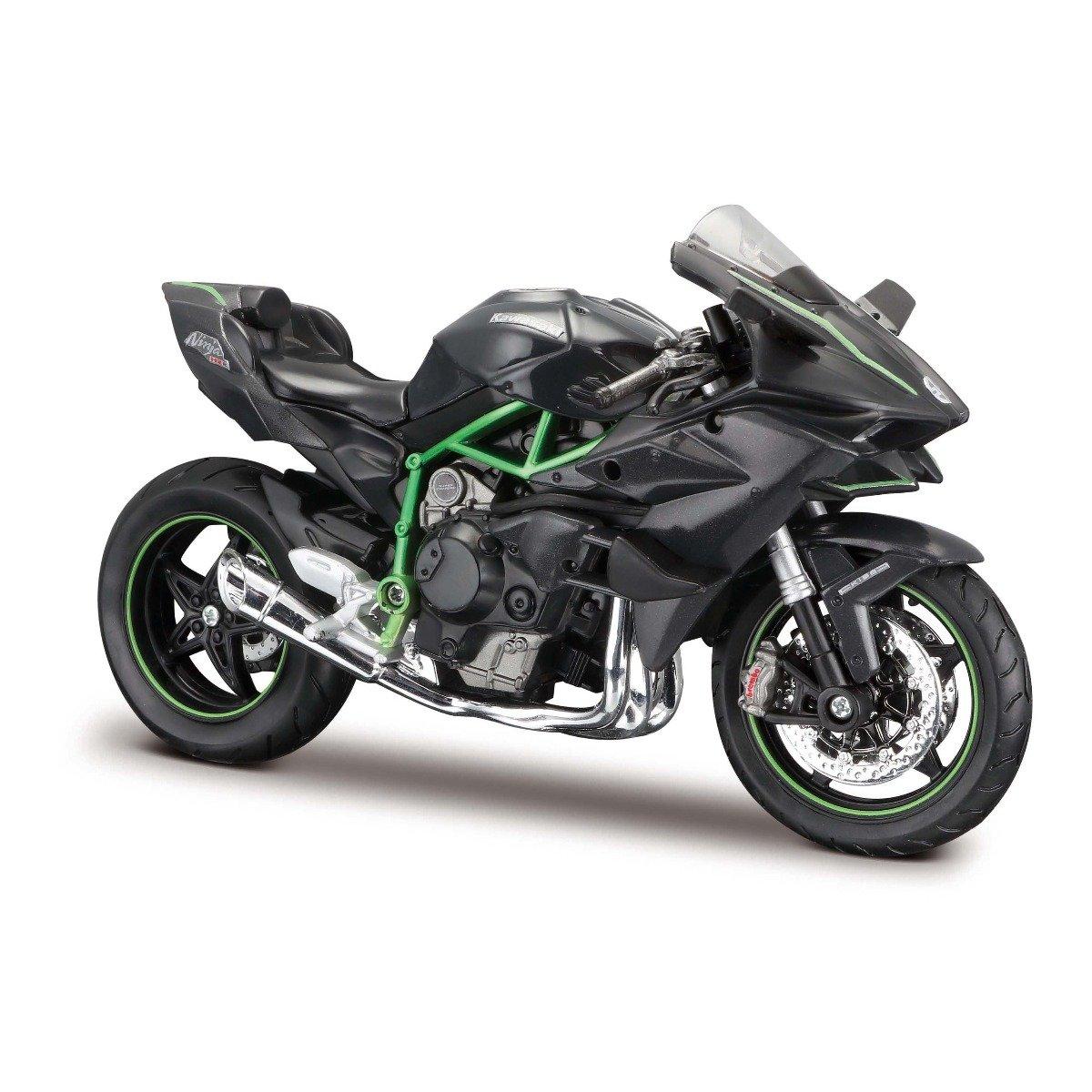Motocicleta Maisto Kawasaki Ninja H2R, 1:12