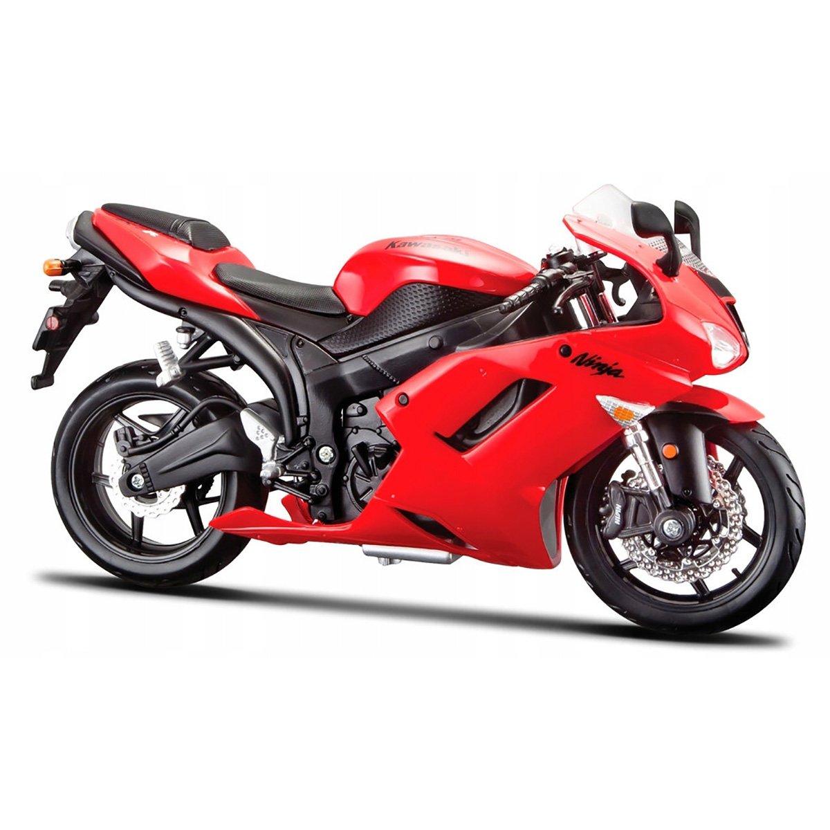 Motocicleta Maisto Kawasaki Ninja ZX-6R, 1:12