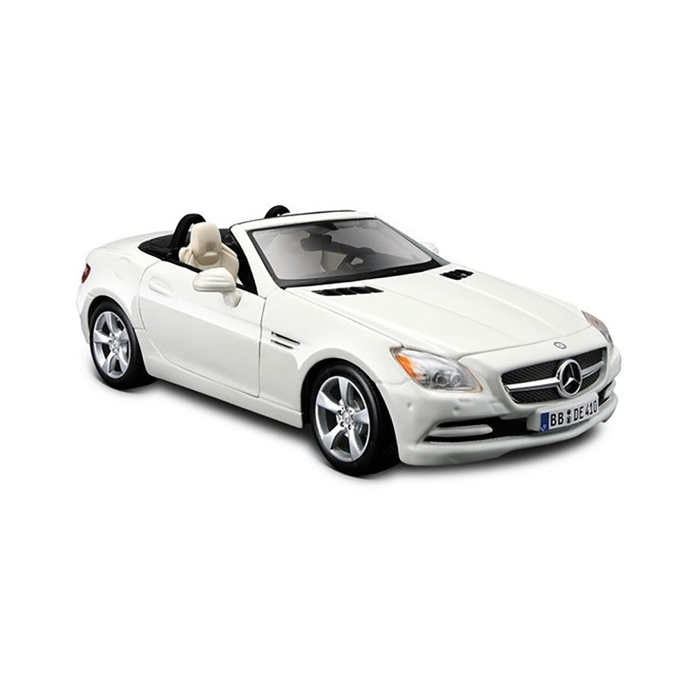 Masinuta Maisto Mercedes-Benz SLK-Class, Alb, 1:24