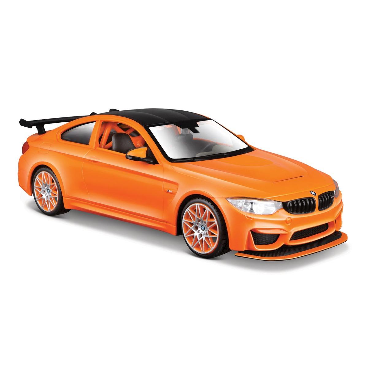 Masinuta Maisto BMW M4 GTS, 1:24, Portocaliu