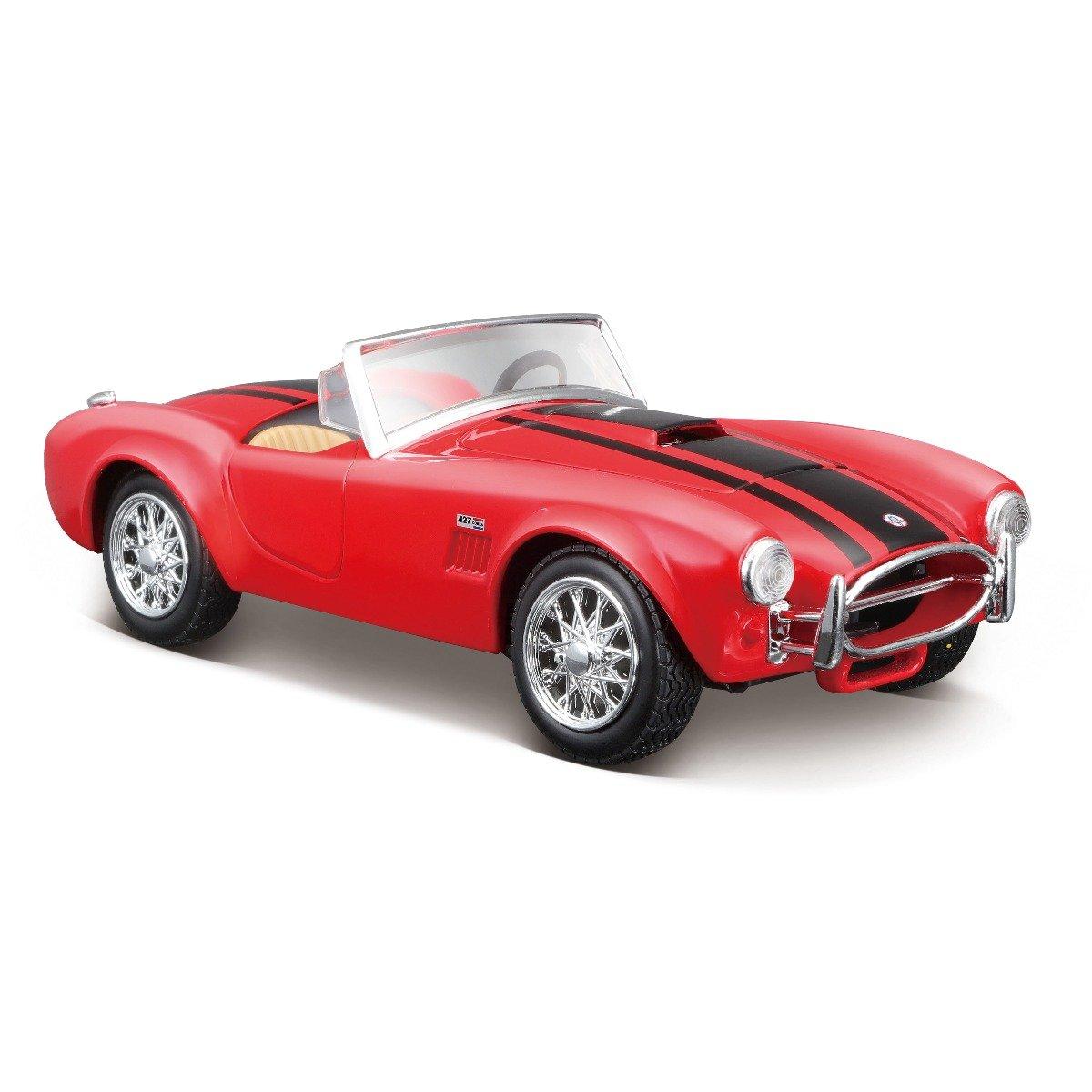Masinuta Maisto Shelby Cobra 427, 1:24, Rosu