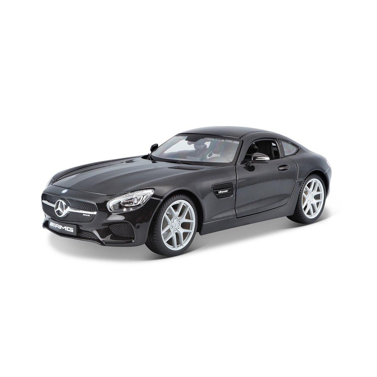Masinuta Maisto Mercedes AMG GT, 1:18, Negru