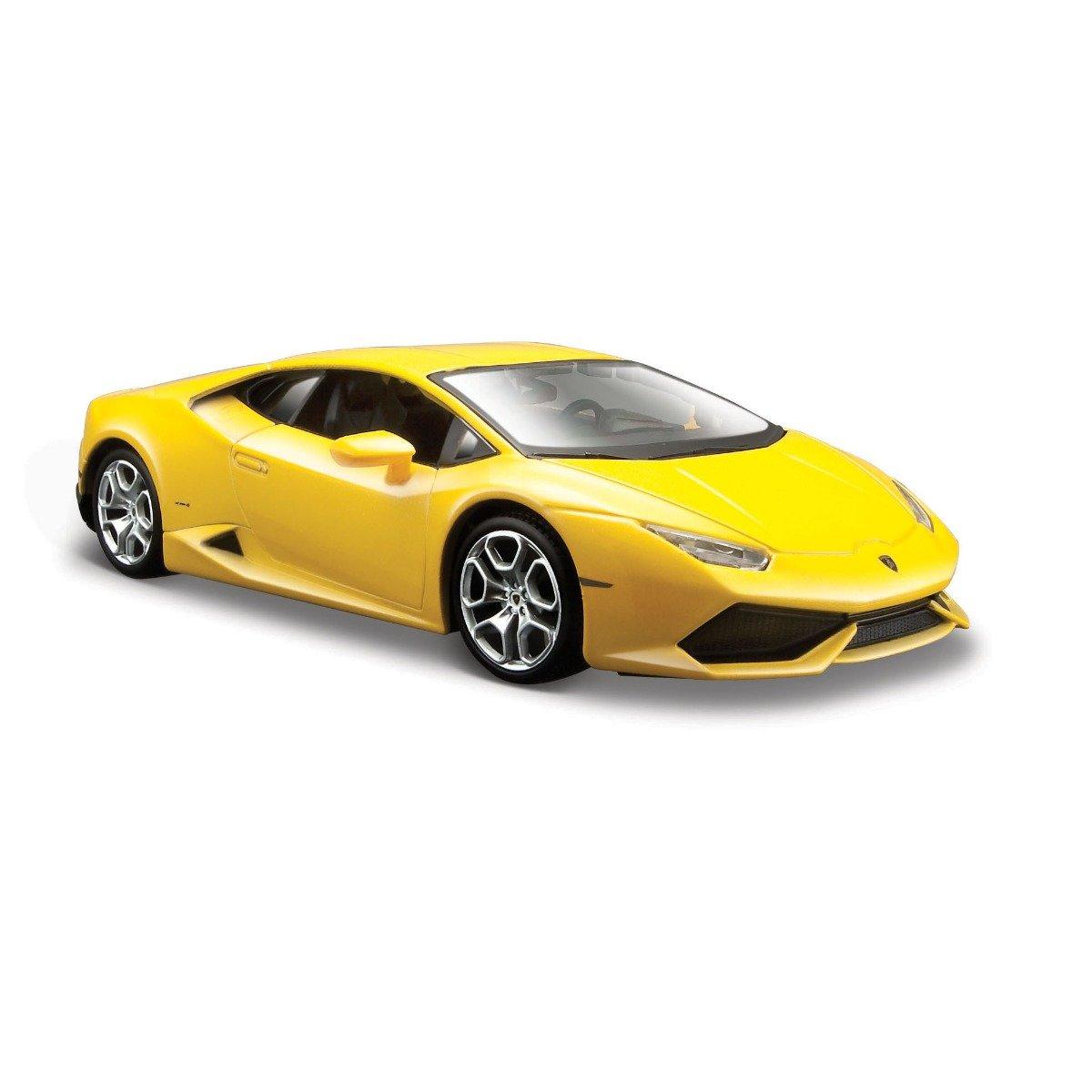 Masinuta Maisto Lamborghini Huracan LP 610-4,1:24, Galben