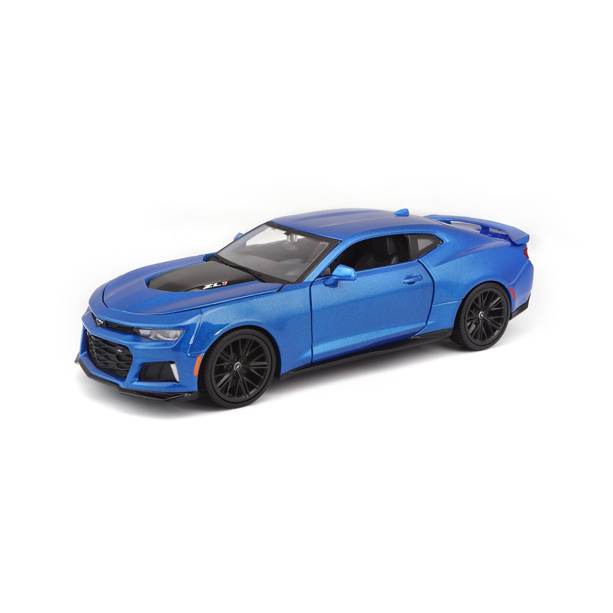 Masinuta Maisto Chevrolet Camaro Zl1 2017, 1:24, Albastru