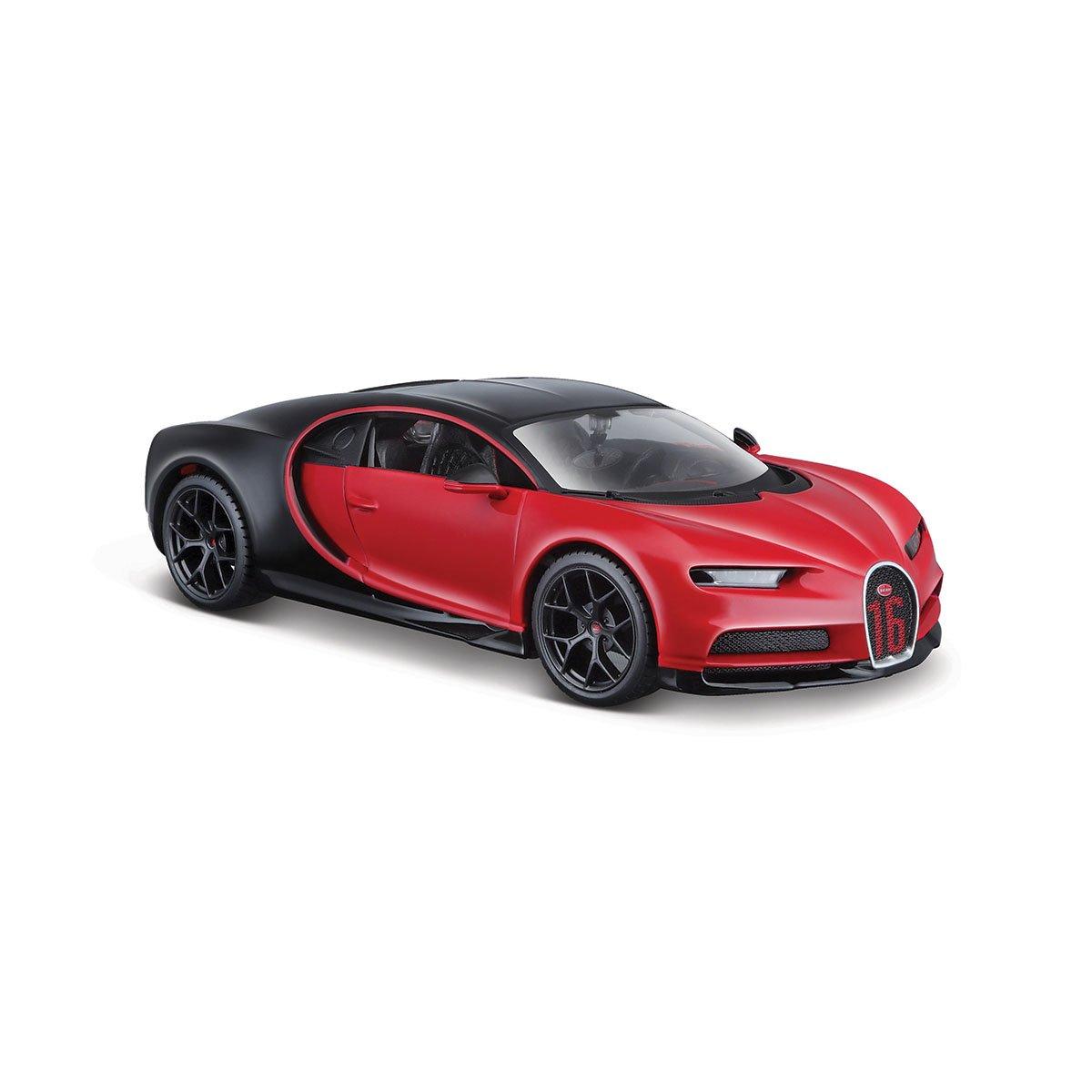 Masinuta Maisto Bugatti Chiron Sport, 1:24, Rosu