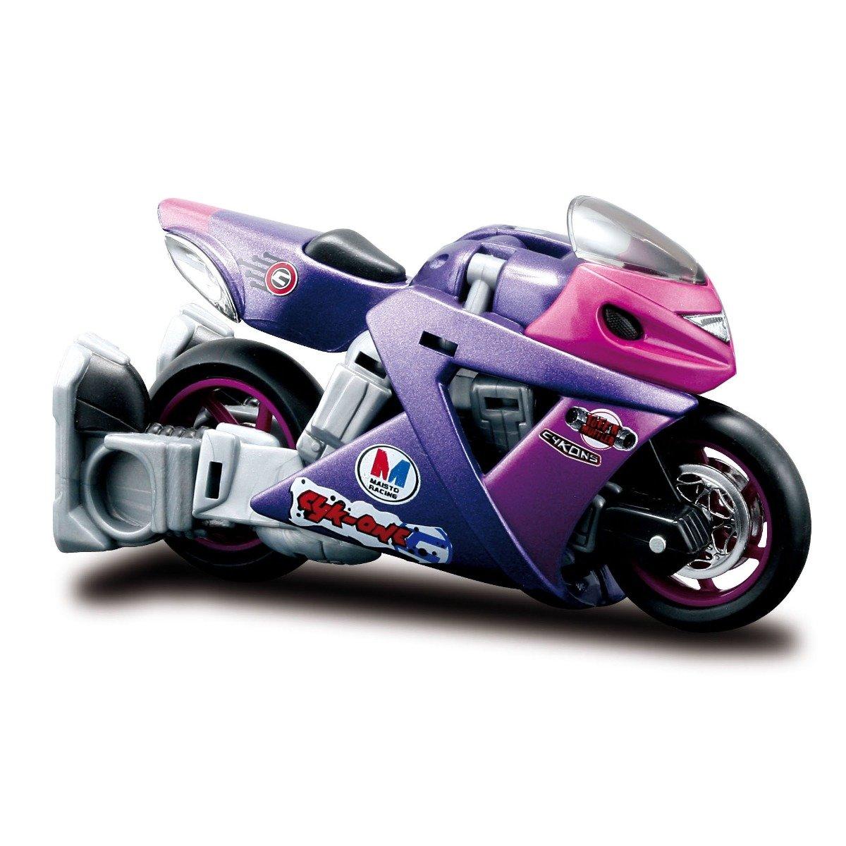 Motocicleta transformabila Maisto Cykons, 1:18, Cyk-One