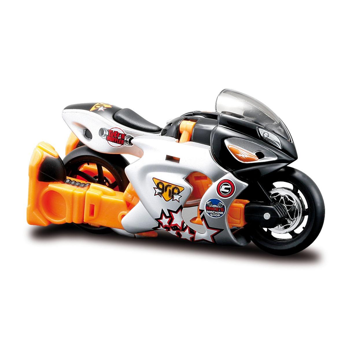 Motocicleta transformabila Maisto Cykons, 1:18, Grip