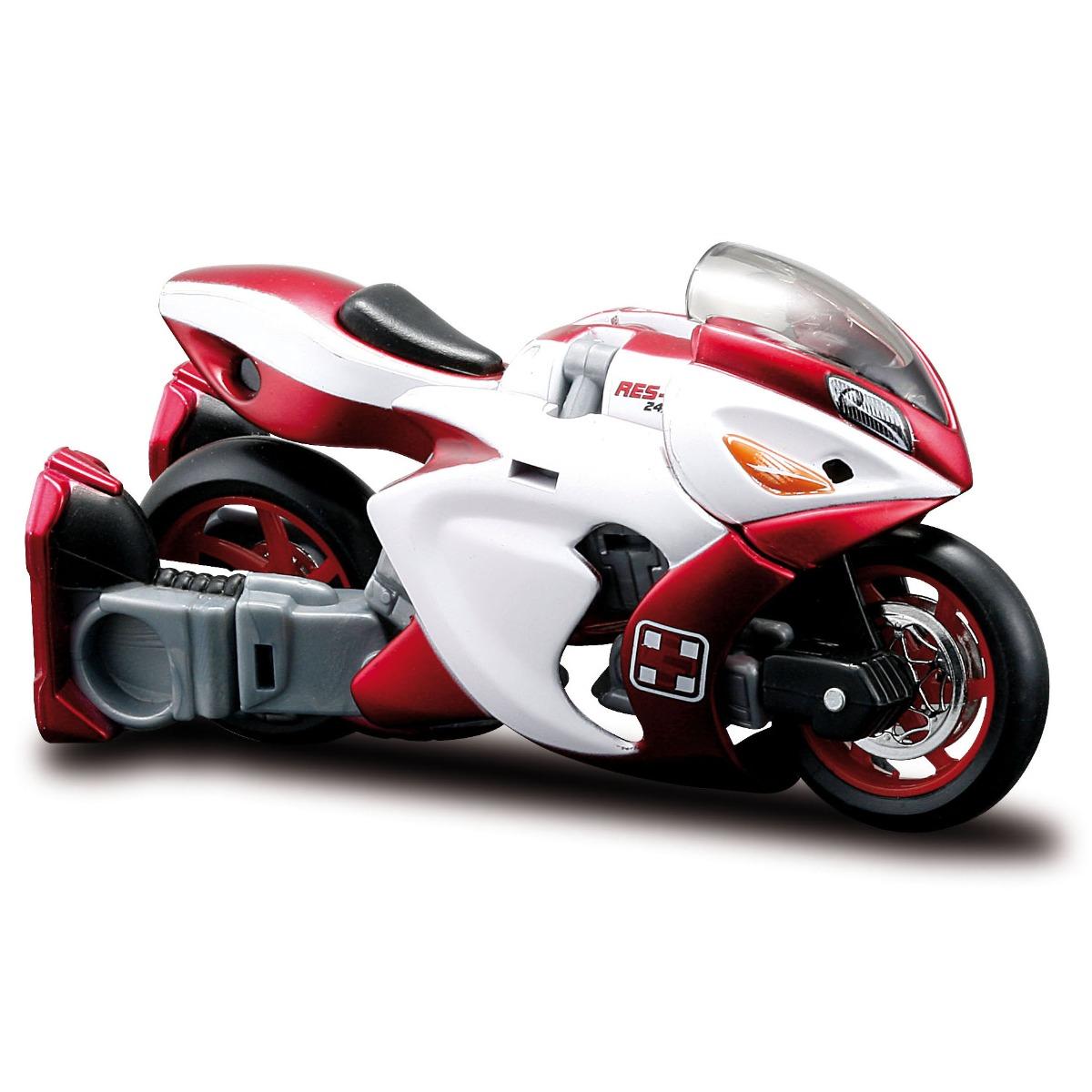 Motocicleta transformabila Maisto Cykons, 1:18, Res-q