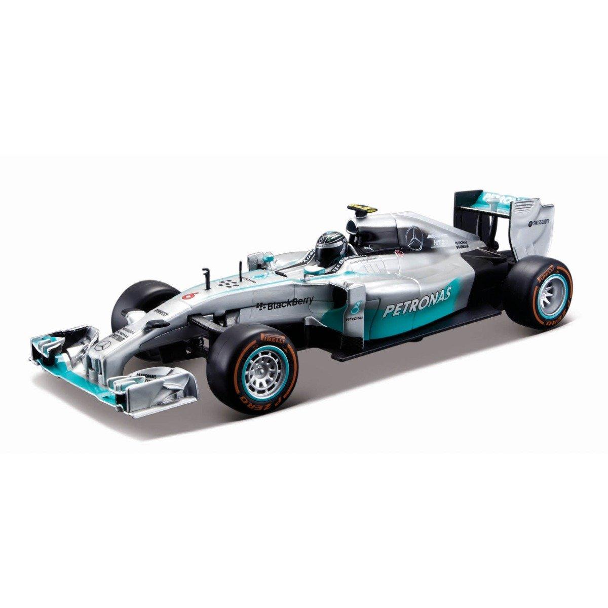 Masinuta cu telecomanda Maisto Mercedes F1W05, 1:24, 27 MHz
