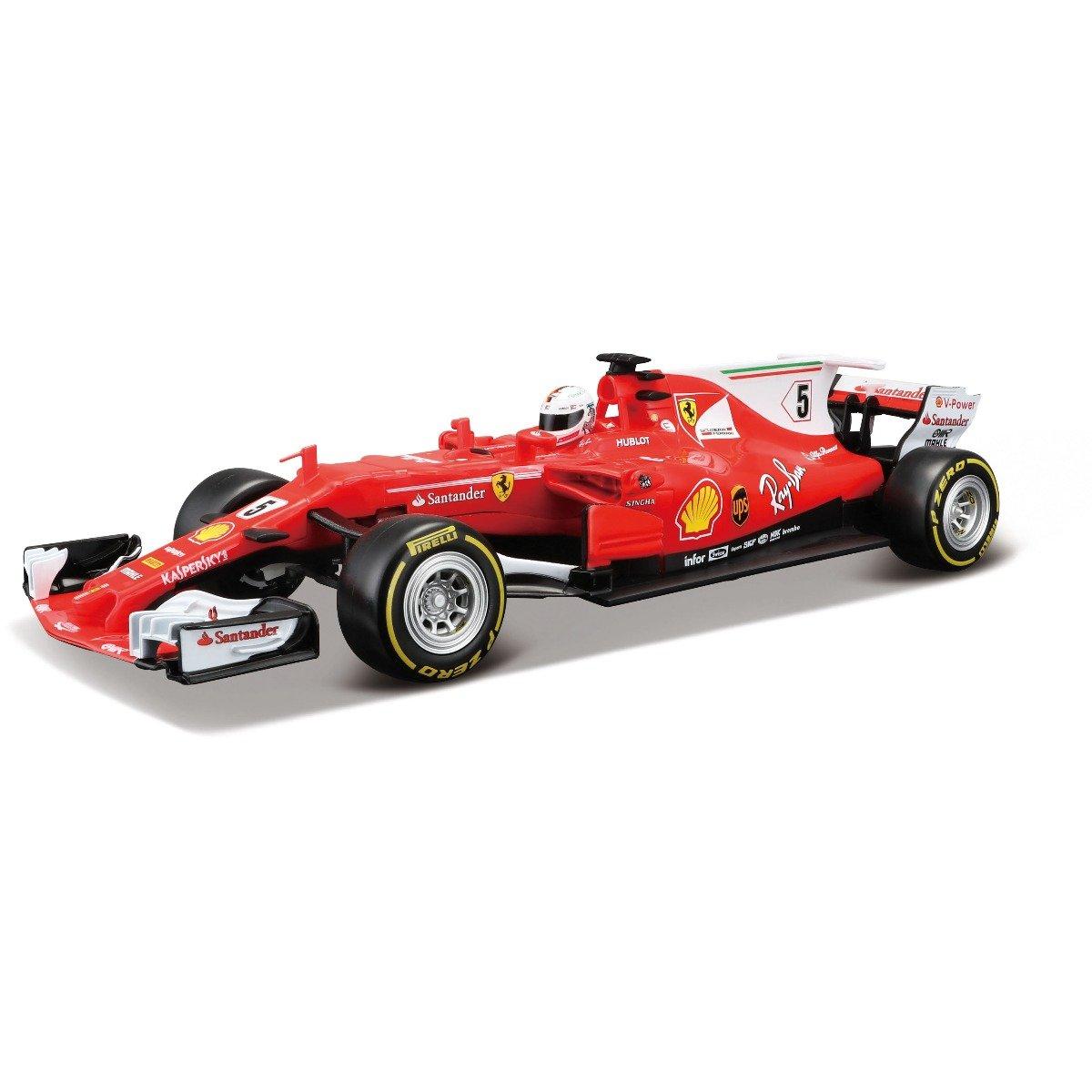 Masinuta cu telecomanda Maisto Ferrari SF70H, 1:24, 27 MHz