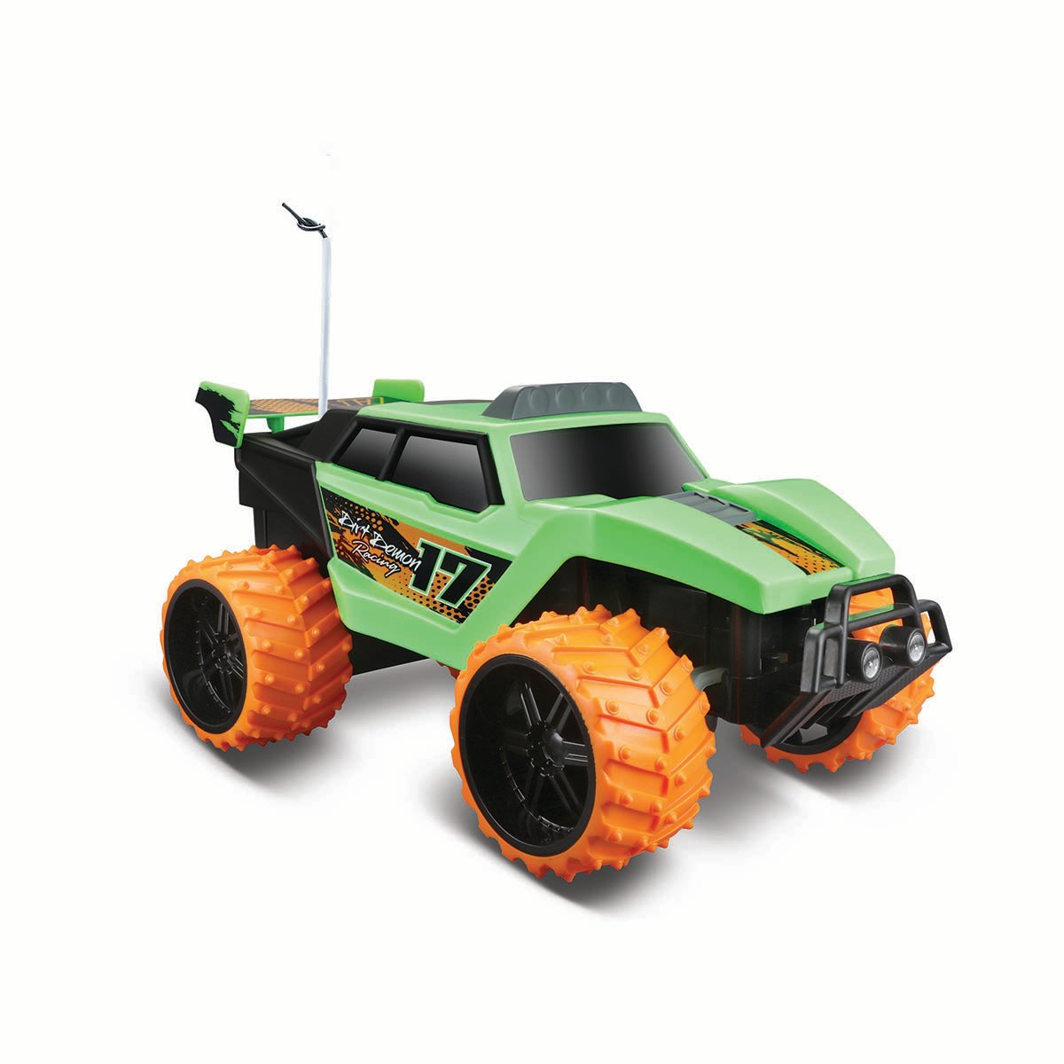 Masinuta off-road cu telecomanda Dirt Demon Maisto, 1:16, Verde