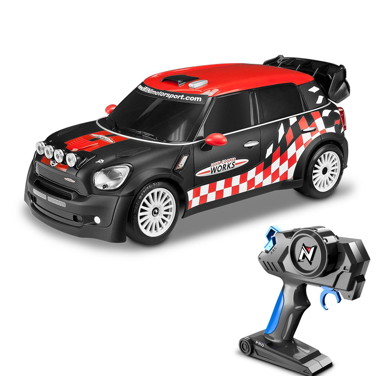 masina cu telecomanda toy state nikko mini countryman