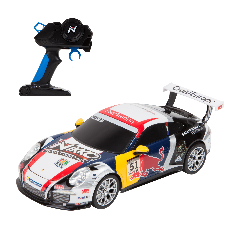 masina cu telecomanda toystate nikko porsche 911 gt3 cup