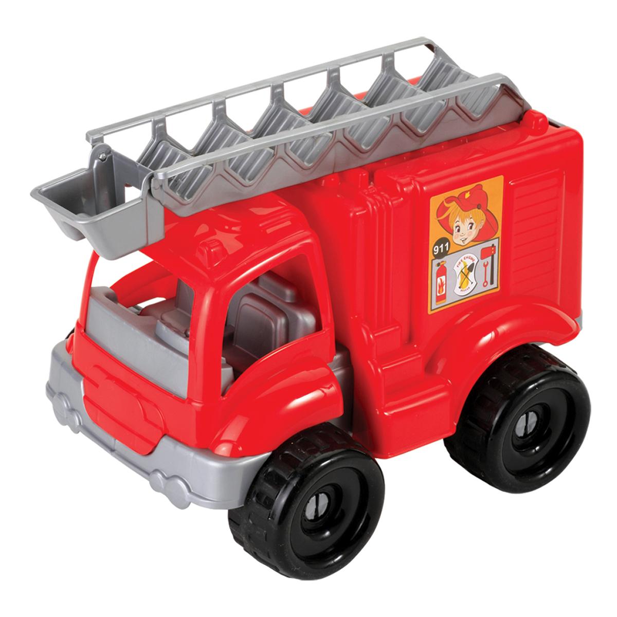 masina de pompieri dede, 45 de piese