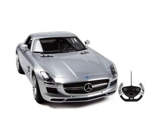 Masina cu telecomanda Rastar Mercedes Benz SLS AMG 1:14 - Gri
