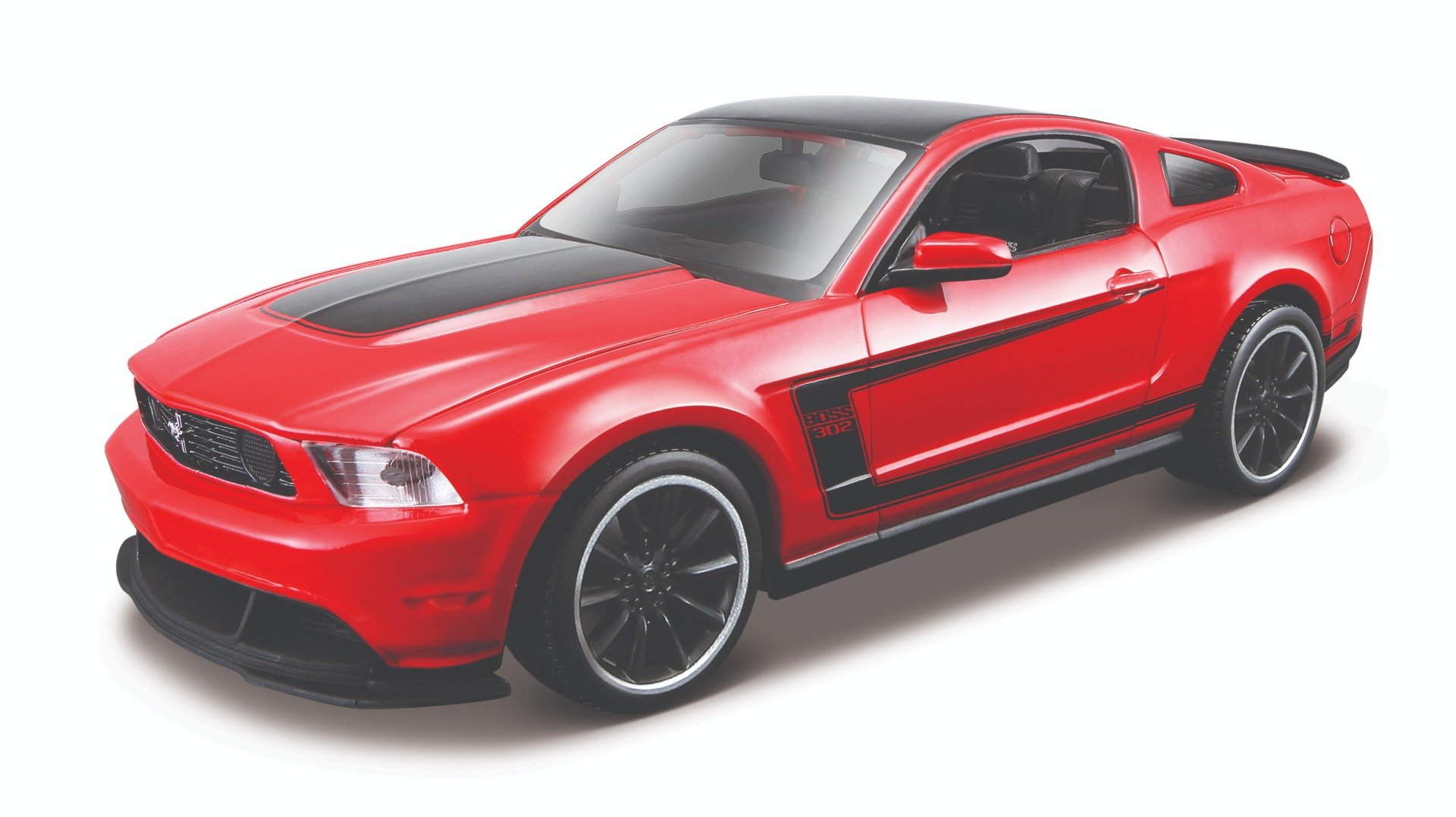 masina maisto ford mustang boss 302 2012, special edition 1:24