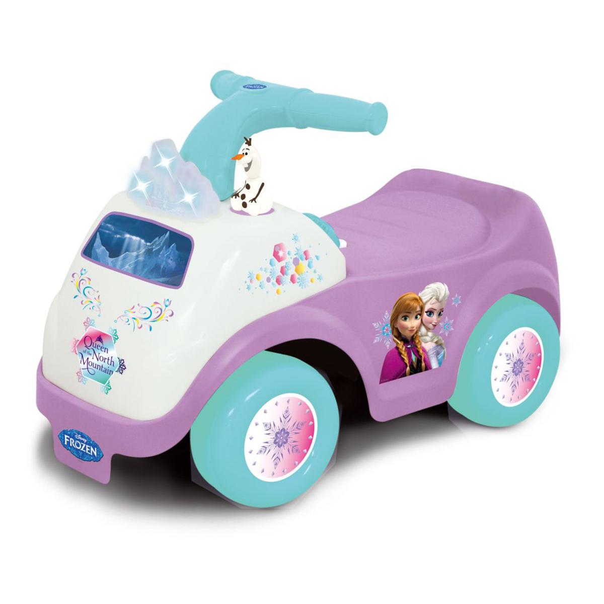 Masinuta fara pedale cu activitati Kiddieland - Frozen imagine