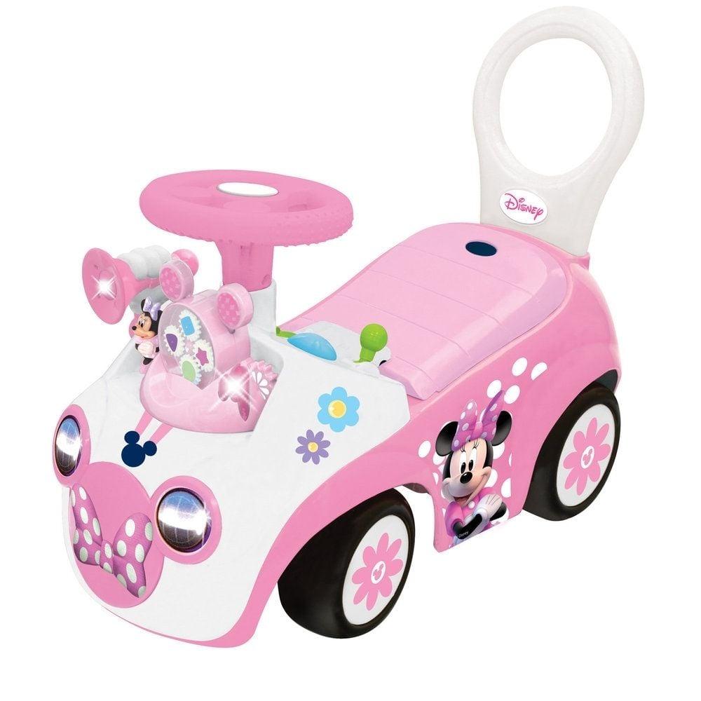 masinuta fara pedale kiddieland - minnie mouse interactiv