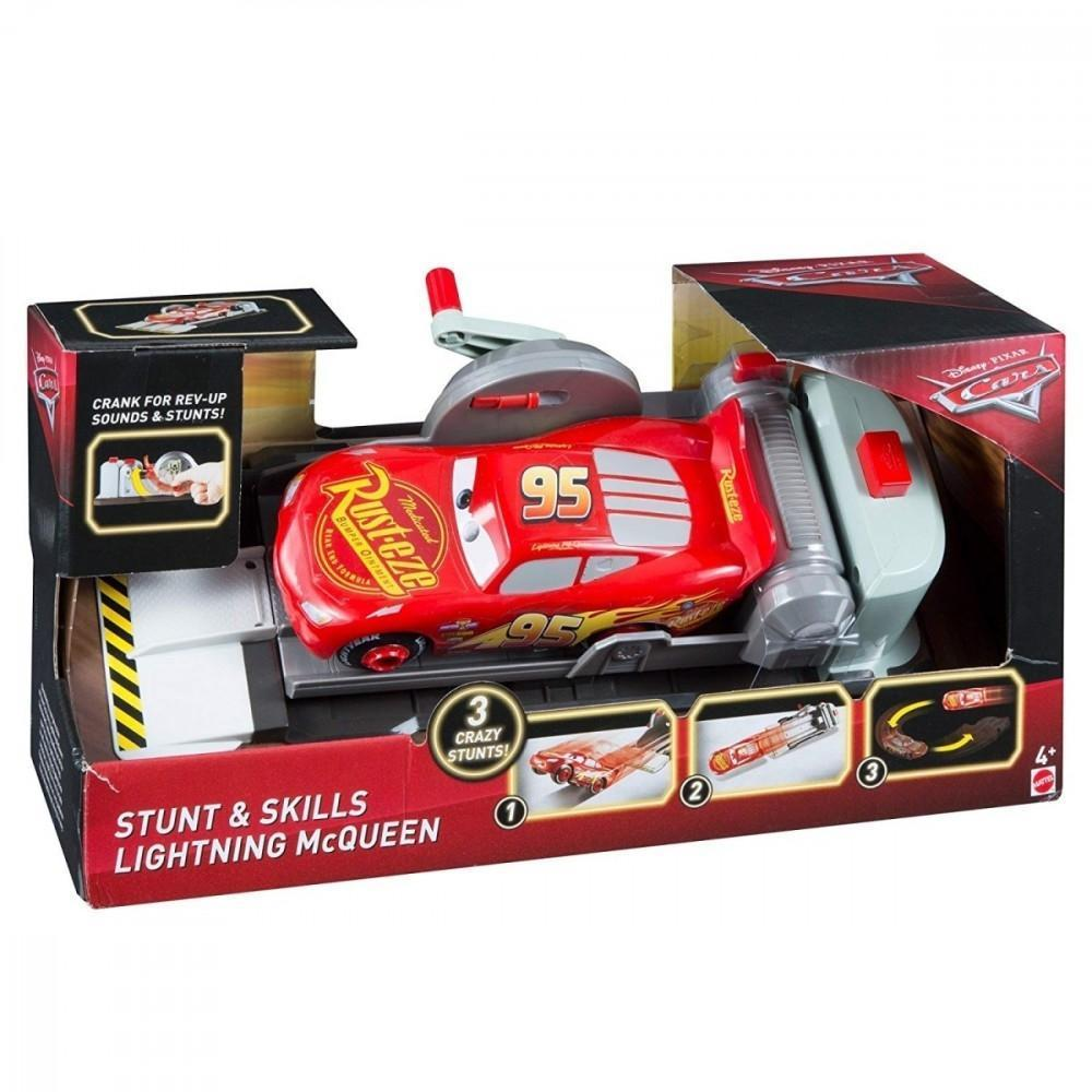 Masina cu lansator Cars, Fulger McQueen