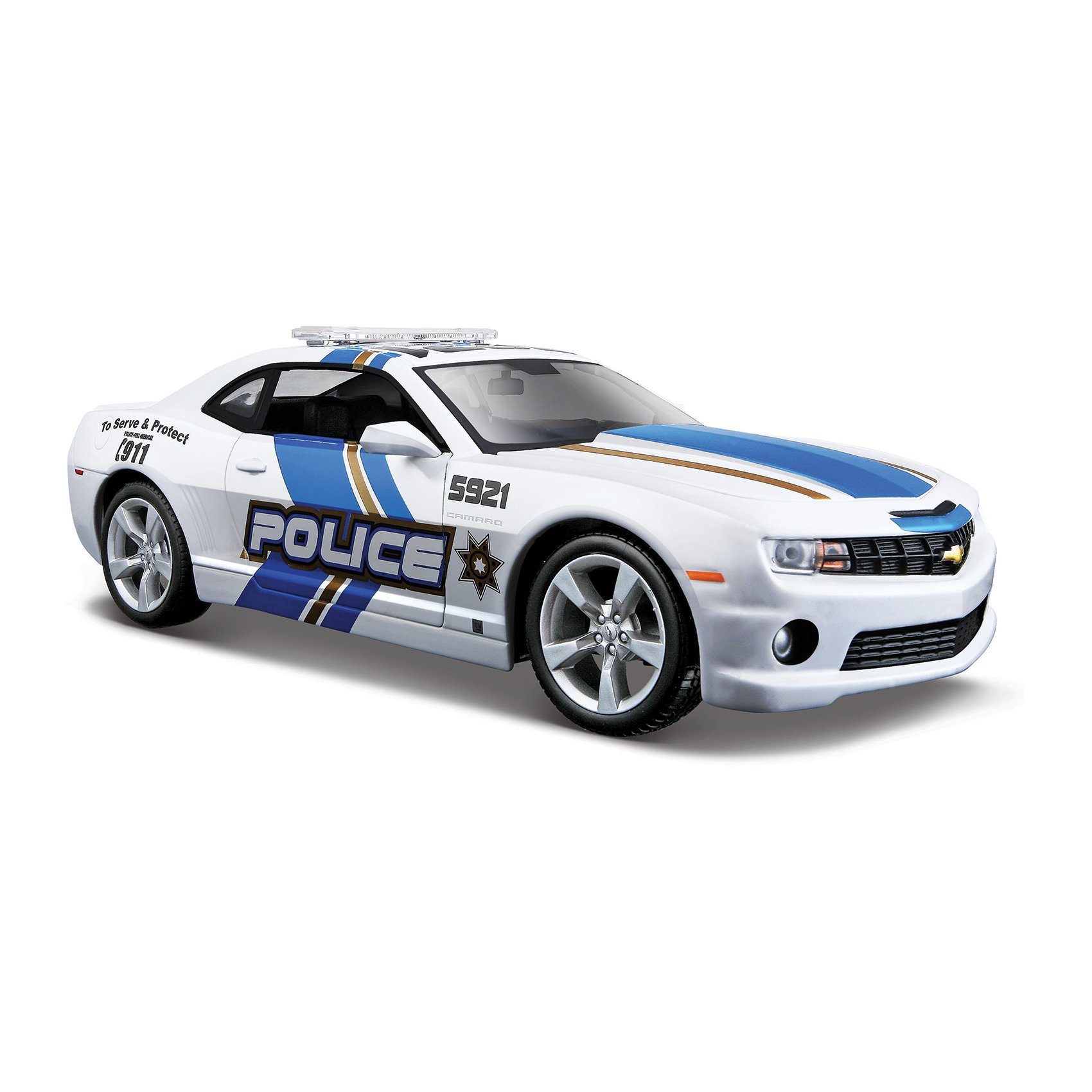 Masinuta Maisto Chevrolet Camaro SS RS Police imagine 2021