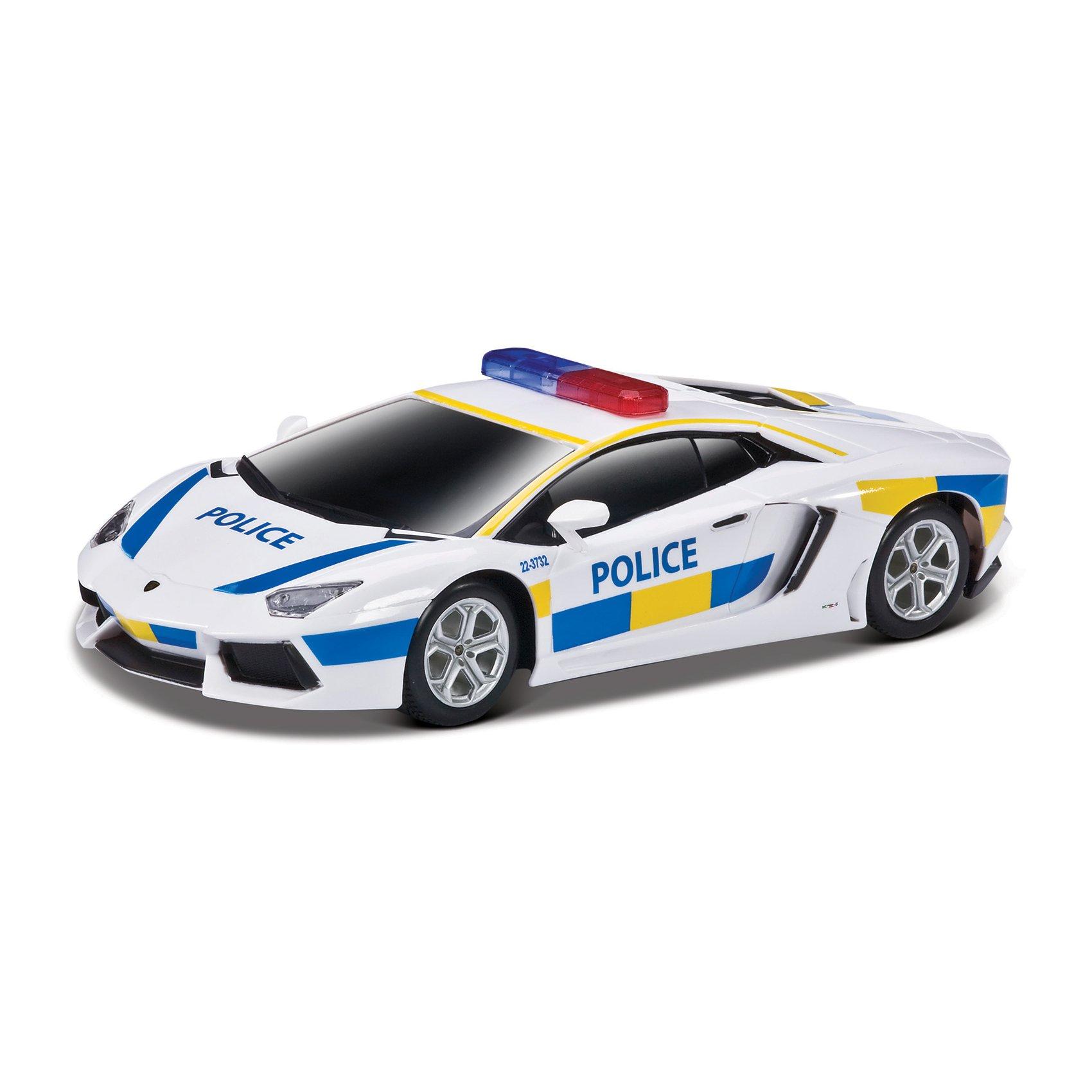 Masinuta Maisto MotoSounds Lamborghini Aventador LP700-4 (masina de politie) 1:24