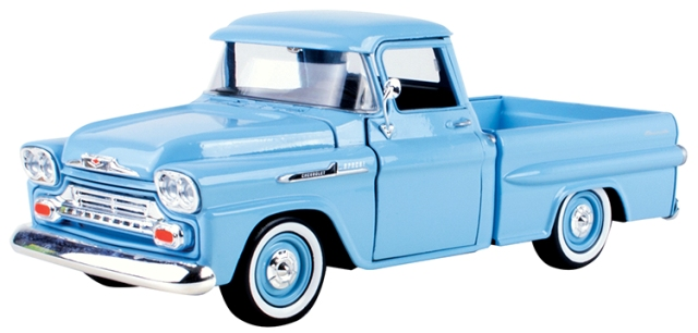 masinuta motormax chevy apache fleetside pickup 1958