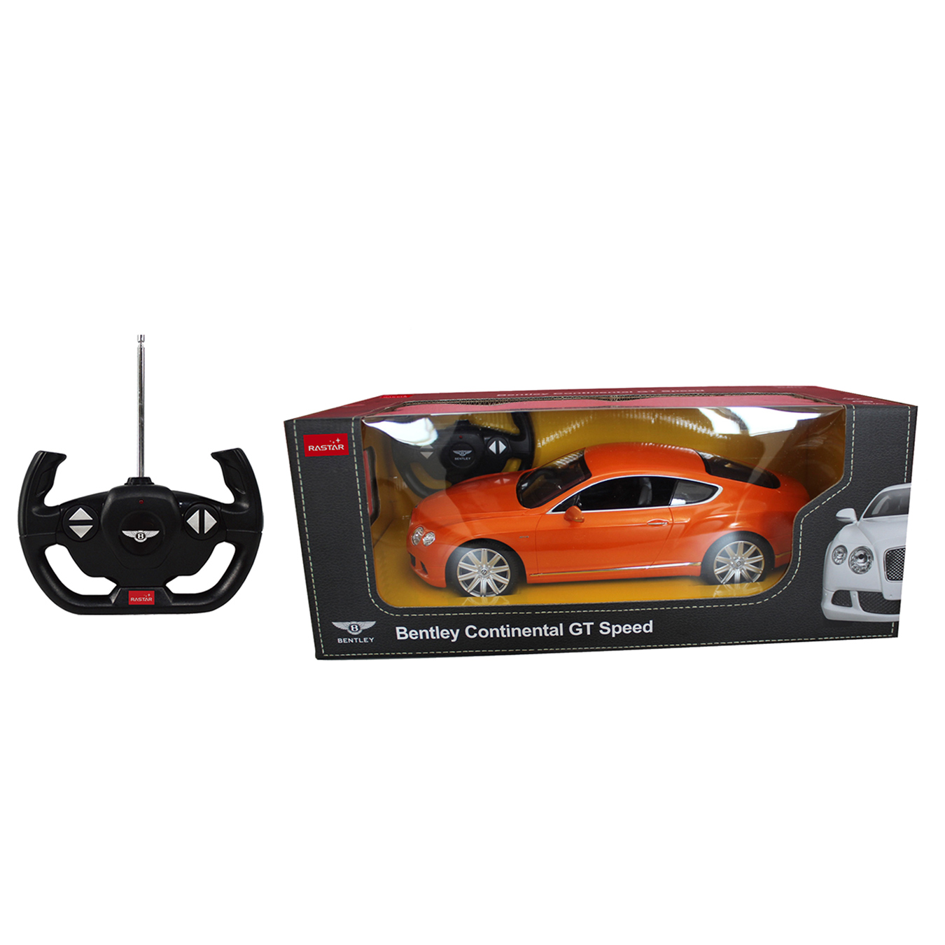 masina cu telecomanda rastar bentley continental gt speed 1:14