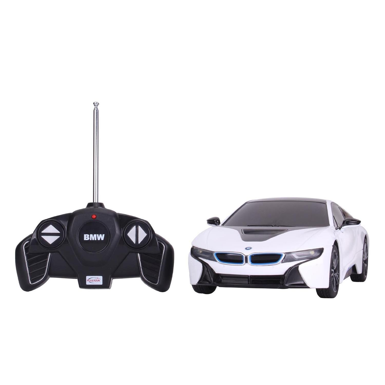 masina cu telecomanda rastar bmw i8 1:18