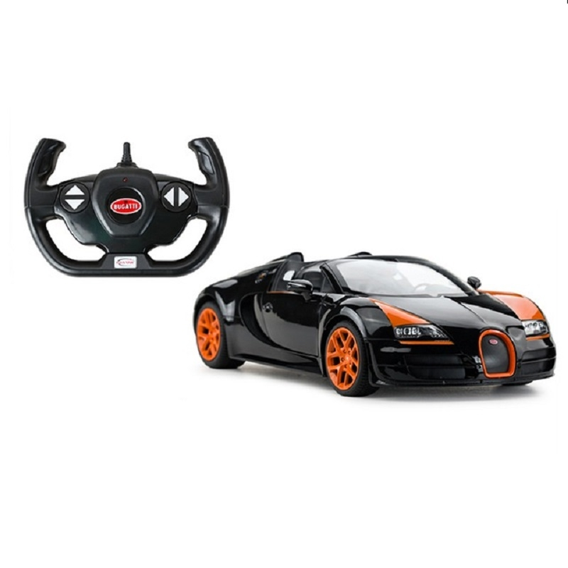 masina cu telecomanda rastar bugatti grand sport vitesse 1:14