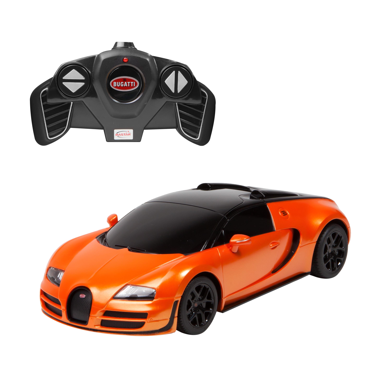 masina cu telecomanda rastar bugatti veyron grand sport vitesse 1:18