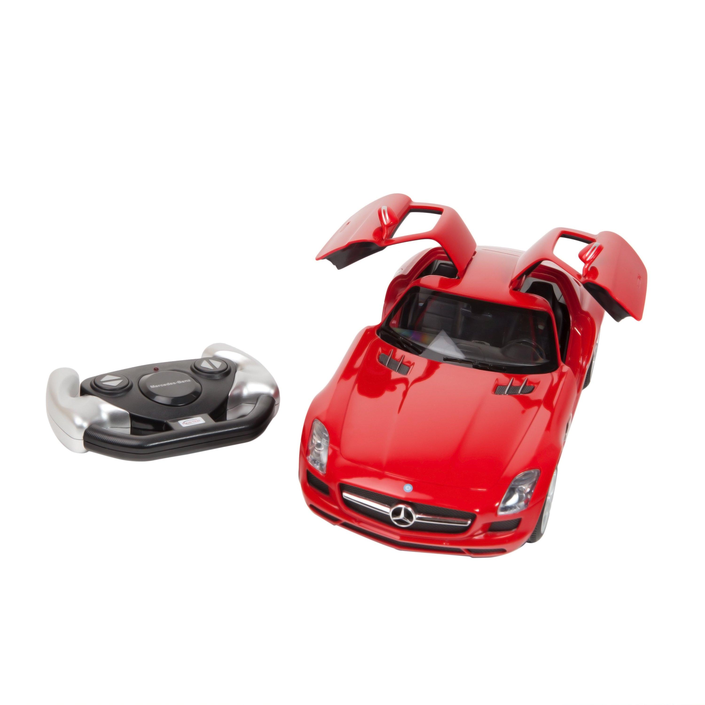 Masina cu telecomanda Rastar Mercedes Benz SLS AMG 1:14 - Rosu