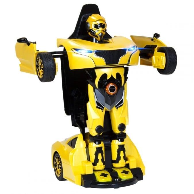 Masina cu telecomanda Rastar RS X Man Transformer 1:14, Galben imagine
