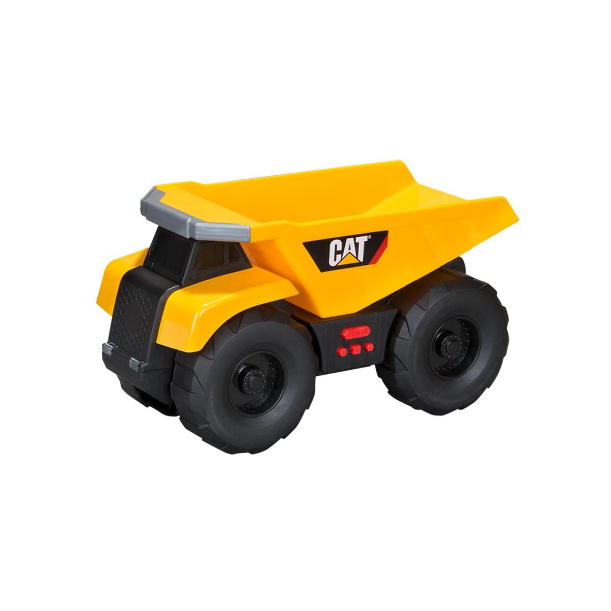 masinuta toy state cat big builder l&s - dump truck