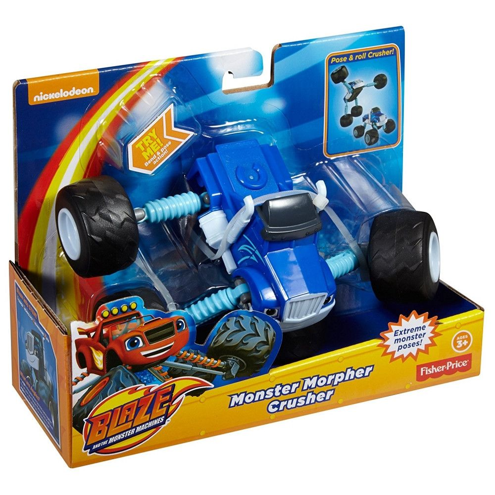 Masinuta Blaze and the Monster Machines Crusher